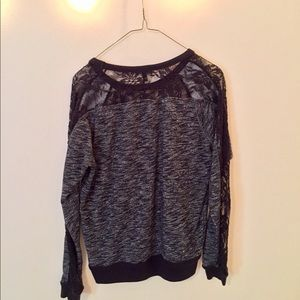Express Sweaters - Express Lace Sweater